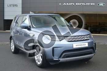 Land Rover Discovery 2.0 SD4 (240hp) HSE in Byron Blue at Listers Land Rover Hereford
