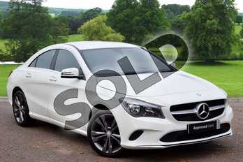 Mercedes-Benz CLA CLA 220d (177) Sport 4dr Tip Auto in cirrus white at Mercedes-Benz of Grimsby