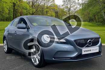 Volvo V40 D4 (190) Inscription 5dr Geartronic in Metallic - Denim blue at Listers Toyota Boston