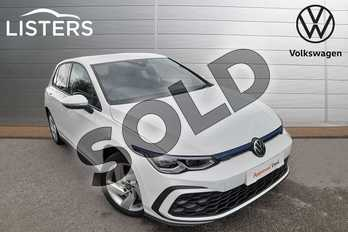 Volkswagen Golf 1.4 TSI GTE 5dr DSG in Pure White at Listers Volkswagen Worcester