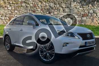 Lexus RX 450h 3.5 Luxury 5dr CVT Auto in Arctic Pearl at Lexus Coventry
