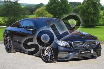 Mercedes-Benz E Class E220d AMG Line Premium 2dr 9G-Tronic in Obsidian Black Metallic at Mercedes-Benz of Grimsby
