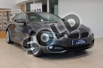 BMW 4 Series 420i Luxury 2dr Auto in Metallic - Mineral grey at Listers U Northampton