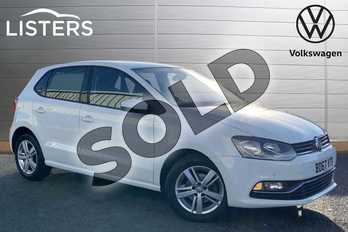 Volkswagen Polo 1.2 TSI Match Edition 5dr in Pure White at Listers Volkswagen Stratford-upon-Avon