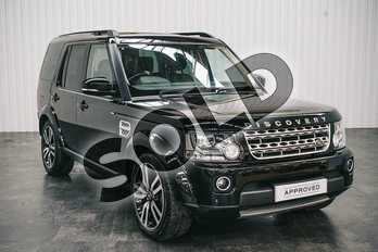 Land Rover Discovery 3.0 SDV6 HSE Luxury 5dr Auto in Santorini Black at Listers Land Rover Solihull