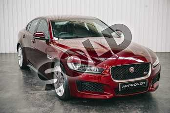 Jaguar XE 3.0 V6 Supercharged S 4dr Auto in Montalcino Red at Listers Jaguar Solihull