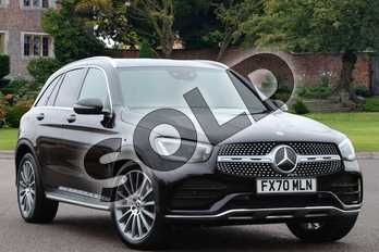 Mercedes-Benz GLC GLC 300d 4Matic AMG Line Premium 5dr 9G-Tronic in obsidian black metallic at Mercedes-Benz of Lincoln