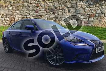 Lexus IS 300h F-Sport 4dr CVT Auto in Ultra Blue at Lexus Coventry