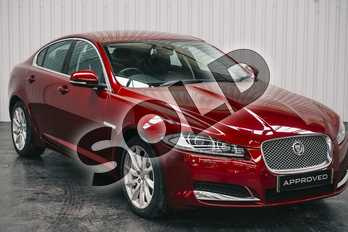Jaguar XF 2.2d Premium Luxury 4dr Auto in Metallic - Caviar at Listers Jaguar Solihull