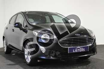 Ford Fiesta 1.0 EcoBoost 125 Titanium 5dr in Metallic - Shadow black at Listers U Stratford-upon-Avon
