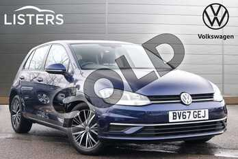 Volkswagen Golf 1.4 TSI SE (Nav) 5dr in Atlantic Blue at Listers Volkswagen Leamington Spa