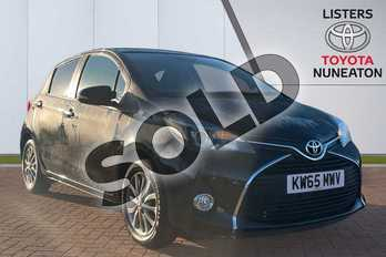 Toyota Yaris 1.33 VVT-i Icon 5dr in Black at Listers Toyota Nuneaton