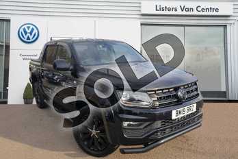 Volkswagen Amarok D/Cab Pick Up Aventura 3.0 V6 TDI 258 BMT 4M Auto in Deep black at Listers Volkswagen Van Centre Coventry
