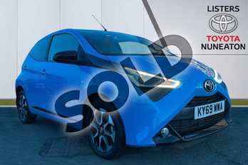 Toyota AYGO 1.0 VVT-i X-Trend 5dr x-shift in Blue at Listers Toyota Nuneaton