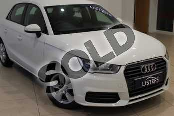 Audi A1 1.0 TFSI SE 5dr in Solid - Shell white at Listers U Northampton
