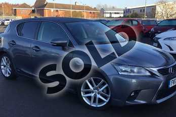 Lexus CT 200h 1.8 Premier 5dr CVT Auto in Mercury Grey at Lexus Lincoln