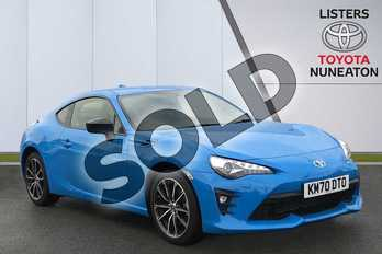 Toyota GT86 2.0 D-4S Blue Edition 2dr in Blue at Listers Toyota Nuneaton