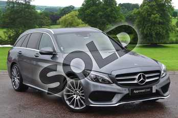 Mercedes-Benz C Class C220d AMG Line 5dr 9G-Tronic in Selenite Grey Metallic at Mercedes-Benz of Grimsby