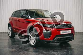 Range Rover Evoque 2.0 TD4 HSE Dynamic Lux 5dr Auto in Firenze Red at Listers Land Rover Solihull