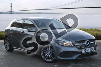 Mercedes-Benz A Class A180d AMG Line Executive 5dr in Mountain Grey at Mercedes-Benz of Hull
