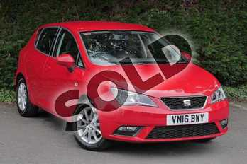 SEAT Ibiza 1.2 TSI 90 SE 5dr in RED at Listers SEAT Worcester