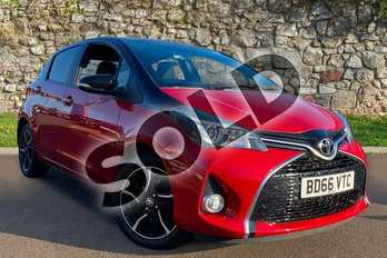 Toyota Yaris 1.33 VVT-i Design 5dr in Black at Listers Toyota Coventry