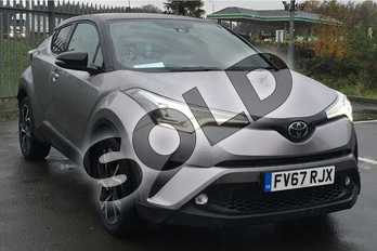 Toyota C-HR 1.2T Dynamic 5dr in Metal Stream at Listers Toyota Lincoln