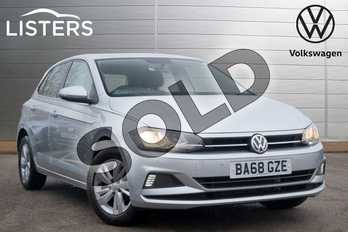Volkswagen Polo 1.0 TSI 95 SE 5dr in Reflex Silver at Listers Volkswagen Leamington Spa