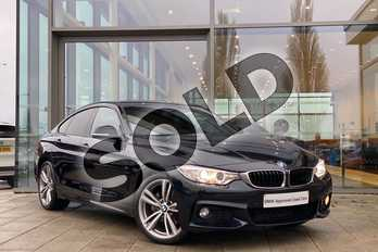 BMW 4 Series 430d xDrive M Sport 5dr Auto (Professional Media) in Carbon Black at Listers King's Lynn (BMW)