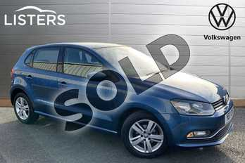 Volkswagen Polo 1.2 TSI Match Edition 5dr in Blue Silk at Listers Volkswagen Stratford-upon-Avon