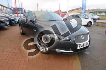 Jaguar XF 2.2d (200) Premium Luxury 4dr Auto in Metallic - Satellite grey at Listers Toyota Grantham