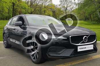 Volvo V60 (Xenium Pack, Sunroof, 360 Camera, Intellisafe Pro in Black Stone at Listers Volvo Worcester