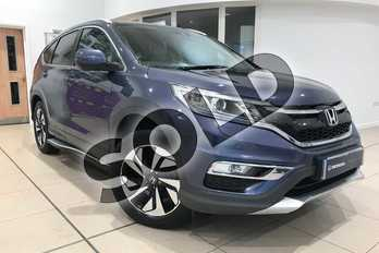 Honda CR-V 1.6 i-DTEC 160 EX 5dr in Twilight Blue at Listers Honda Northampton