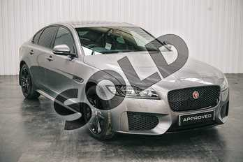 Jaguar XF 2.0d (180) Chequered Flag 4dr Auto in Eiger Grey at Listers Jaguar Solihull