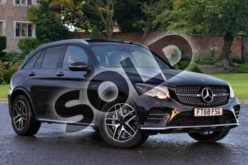 Mercedes-Benz GLC GLC 43 4Matic Premium Plus 5dr 9G-Tronic in obsidian black metallic at Mercedes-Benz of Lincoln