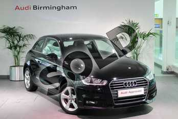 Audi A1 1.6 TDI Sport 3dr in Brilliant black at Birmingham Audi