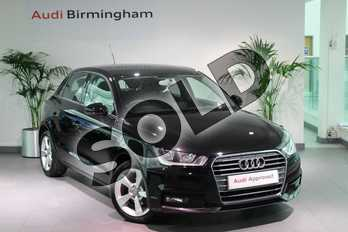 Audi A1 1.0 TFSI Sport 5dr in Myth Black Metallic at Birmingham Audi