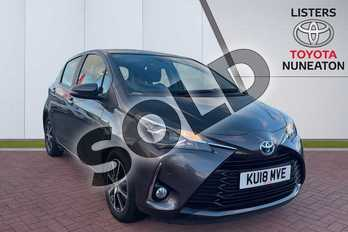 Toyota Yaris 1.5 Hybrid Icon Tech 5dr CVT in Grey at Listers Toyota Nuneaton