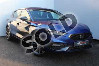 SEAT Leon 1.4 eHybrid FR Sport 5dr DSG in Blue at Listers SEAT Worcester