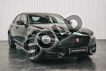 Jaguar XF 2.0i (300) R-Sport 4dr Auto AWD in Narvik Black at Listers Jaguar Solihull