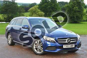 Mercedes-Benz C Class C250d Sport 5dr Auto in Brilliant Blue Metallic at Mercedes-Benz of Grimsby