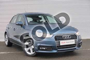 Audi A1 1.0 TFSI Sport 5dr in Utopia Blue, metallic at Coventry Audi