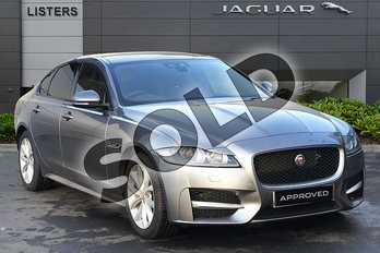 Jaguar XF 2.0d (180) R-Sport 4dr Auto in Eiger Grey at Listers Jaguar Droitwich