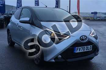Toyota AYGO 1.0 VVT-i X-Clusiv 5dr in Silver Splash at Listers Toyota Lincoln
