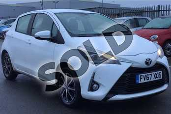 Toyota Yaris 1.5 VVT-i Icon Tech 5dr in Special Solid White at Listers Toyota Lincoln