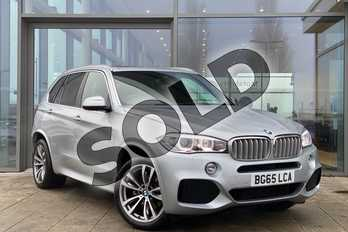 BMW X5 xDrive40d M Sport 5dr Auto (7 Seat) in Glacier Silver at Listers King's Lynn (BMW)