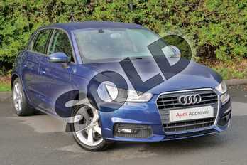 Audi A1 1.4 TFSI Sport 5dr in Scuba Blue, metallic at Worcester Audi