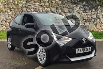 Toyota AYGO 1.0 VVT-i X-Play TSS 5dr in Bold Black at Listers Toyota Boston