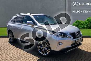 Lexus RX 450h 3.5 Luxury 5dr CVT Auto in Satin Silver at Lexus Coventry