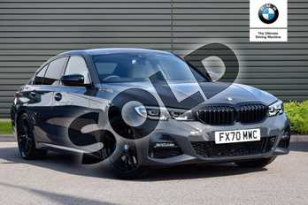 BMW 3 Series 320i M Sport Plus Edition 4dr Step Auto in Dravit Grey at Listers Boston (BMW)